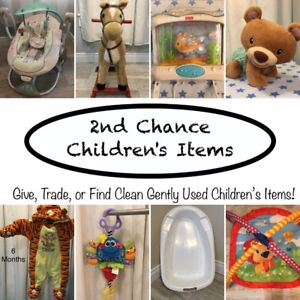 Looking For Clean Gently Used Children's Items?!?!