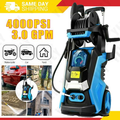 4000PSI 3.0GPM Electric Pressure Washer Cleaner Cold Water Sprayer Machine Tool-