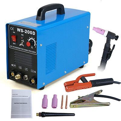 Dc Pulse Inverter Arc Welder 200 Amp Tigmma Welding Machine Dual Voltage