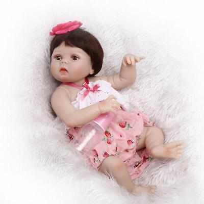 Lovey Lifelike Reborn Toddler Doll 23in. 57cm Valentine's Day Xmas Gift for Kids