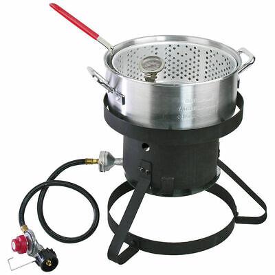 Cajun Injector Kd 10qt Aluminum Fish Fryer 22174.01705