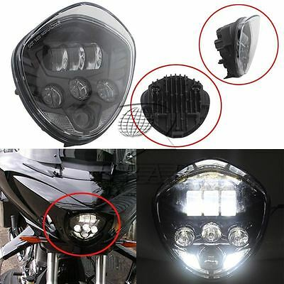 MOTORCYCLE LED HEADLIGHT 60W HILO BEAM FOR <em>VICTORY</em> <em>CROSS COUNTRY TOUR</em>