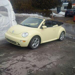 2004 Volkswagen Beetle Turbo Cabriolet