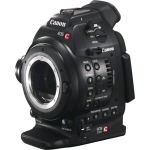 Canon C100 Mark II (2) only