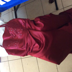 Bridesmaid Dress, Red Wine/ Burgundy Colour, Never used