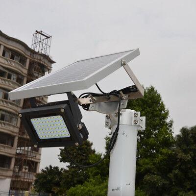 54LED Solar Powered Waterproof Light Security Flood Lamp Garden Path Outdoor USA