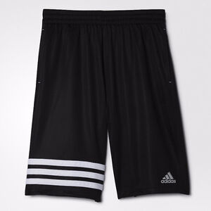 Men's March Madness 3-Stripes Short - Black/White 3XL, New