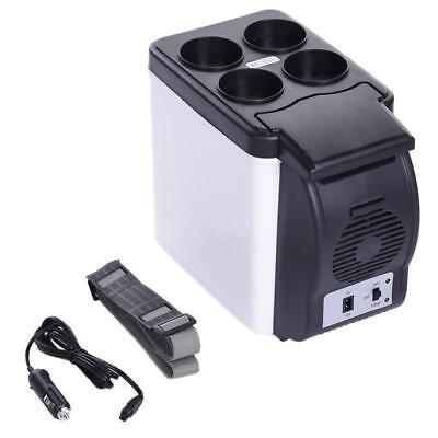 Car Refrigerator Mini Fridge 6L 12V Auto Freezer Portable Keep Cool Warm