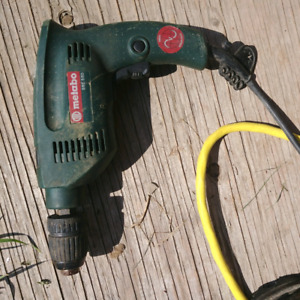 6 Corded Electric Drills