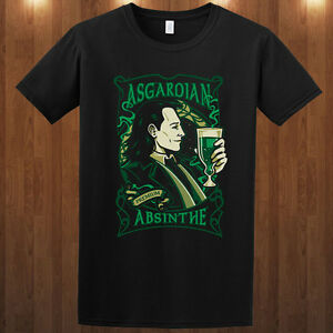 LOKI-tom-hiddleston-Asgardian-Absinthe-tee-THOR-movie-t ...