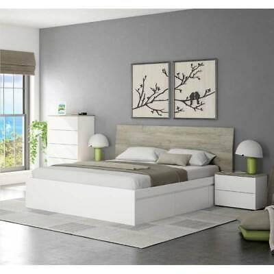 Pack muebles matrimonio camas 150 o 135 cm (cabecero+mesitas+comoda) SIN SOMIER