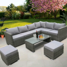 ➡️FREE DELIVERY✅Rattan Outdoor Garden Furniture Set😍