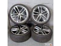 "Ex Display 19"" RS6-C Style Alloy Wheels will fit an Audi A4 B8, B9"