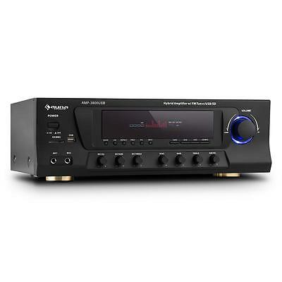 AMPLIFICATORE HI FI POTENTE 5.1 Suono Surround Ricevitore radio fm audio studio