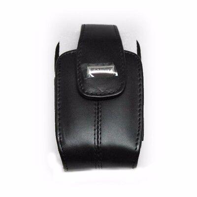 NEW BlackBerry Leather Holster for BlackBerry 8330 Curve - Black Blackberry Curve 8330 Holster