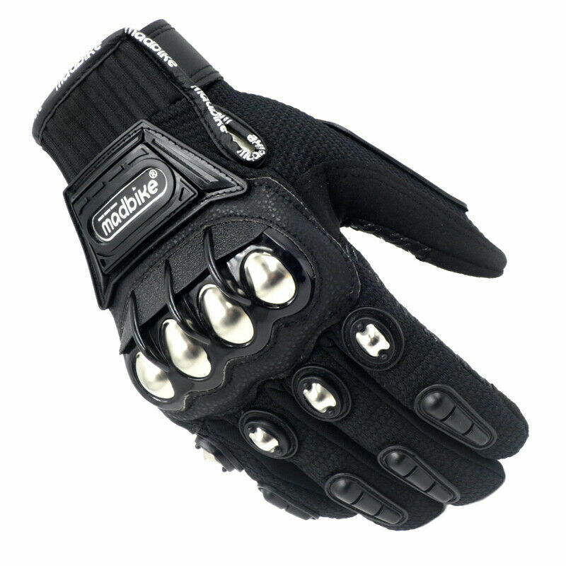 2020 Hot Motorcycle Gloves Touchscreen Leather Motocross Sport Bike Racing Metal