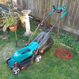 Bosch Rotak 370ER electric lawnmower