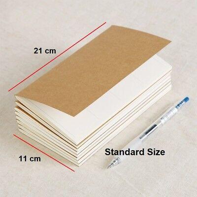 Planner Refills For Midori Travelers Notebook Regular Standard Size Inserts