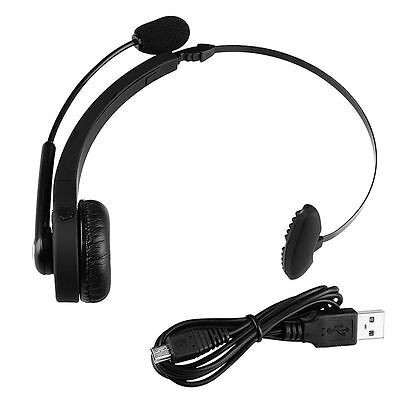 New For Sony PS3 Playstation 3 Wireless Bluetooth Gaming Headset Earphone w/ Mic