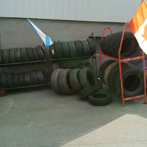 TIRE SALE BLOW OUT APP. 40 TIRES /  /7 PAIRS  for $220.00