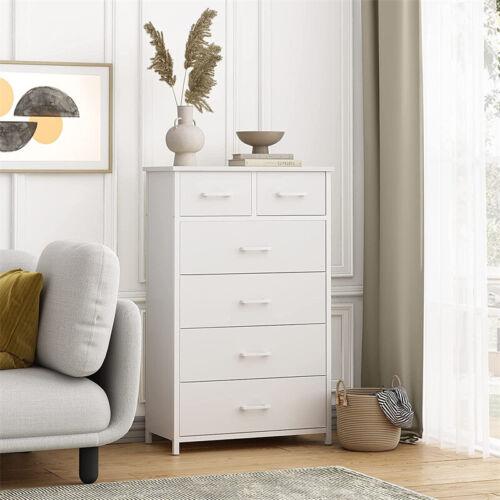 Dresser 6 Drawer Bedroom Furniture Storage Chest Organizer Closet Cabinet Home