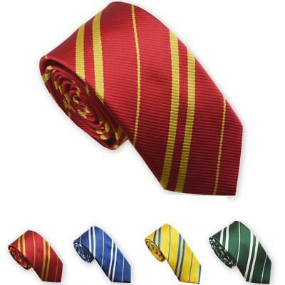 Harry Potter Style für Erwachsene & Kinder House Krawatte Kostüm Party Hogwarts