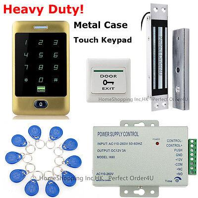Waterproof RFID Card Password Door Access Control System+180kg Magnetic Lock