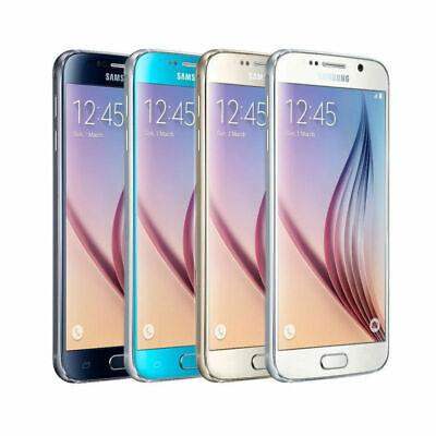 Samsung Galaxy S6, G920F - 32GB 64GB (Unlocked) Smartphone - Blue - Gold - White