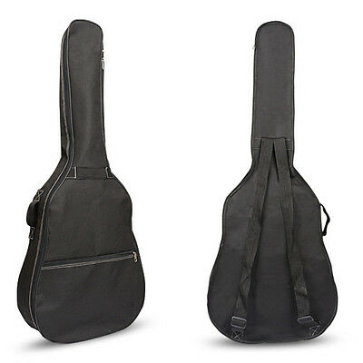 "41"" Double Straps Electric Guitar Backpack Guitar Bag Soft Case Gig Bag Backpack"