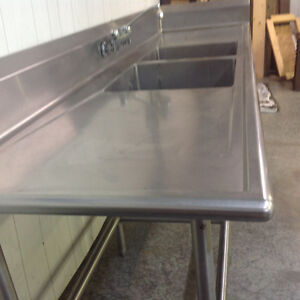 Stainless steel industrial sink Peterborough Peterborough Area image 2