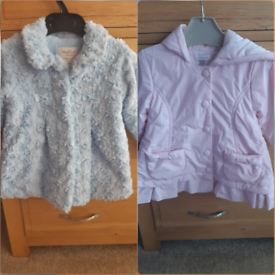 Baby and toddler girls designer jacket. Absorba and Mayoral
