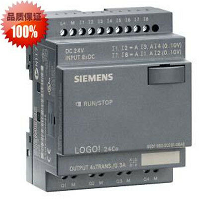 6ed1052-2cc01-0ba6 Siemens Logo Plc 24v Dcrelay 8 Di 4ai4 Do New In Box