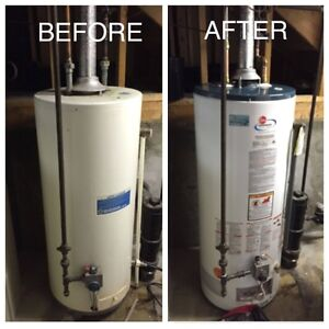 Hot Water Tank $199 Install - NO HIDDEN FEES Edmonton Edmonton Area image 2