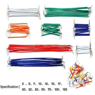 140pcs Solderless Breadboard Jumper Cable Wire Shield Kit Box For Arduino 22awg