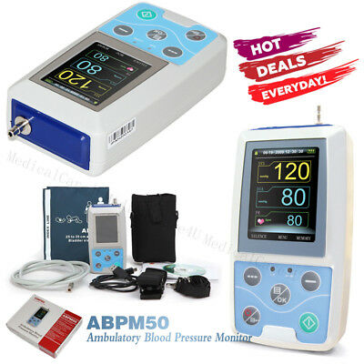 Us Sellerambulatory Blood Pressure Monitor 24 Hours Nibp Holter Free Software