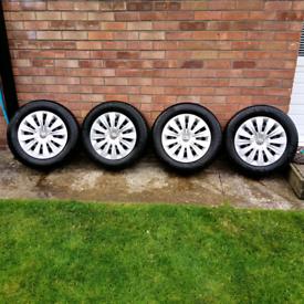 """Volkswagen Golf 15"""" Wheels, Tyres & Wheel Trims 2016"""