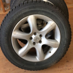 Nissan Murano winter tires and rims