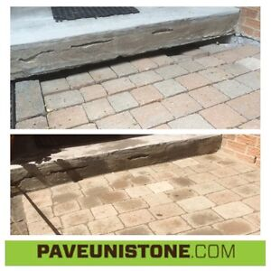 HIGH PRESSURE CLEANING OF DRIVEWAYS & UNISTONE & CONCRETE West Island Greater Montréal image 10