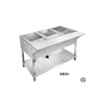 5 Well Lp All Stainless Steel Gas Steam Table
