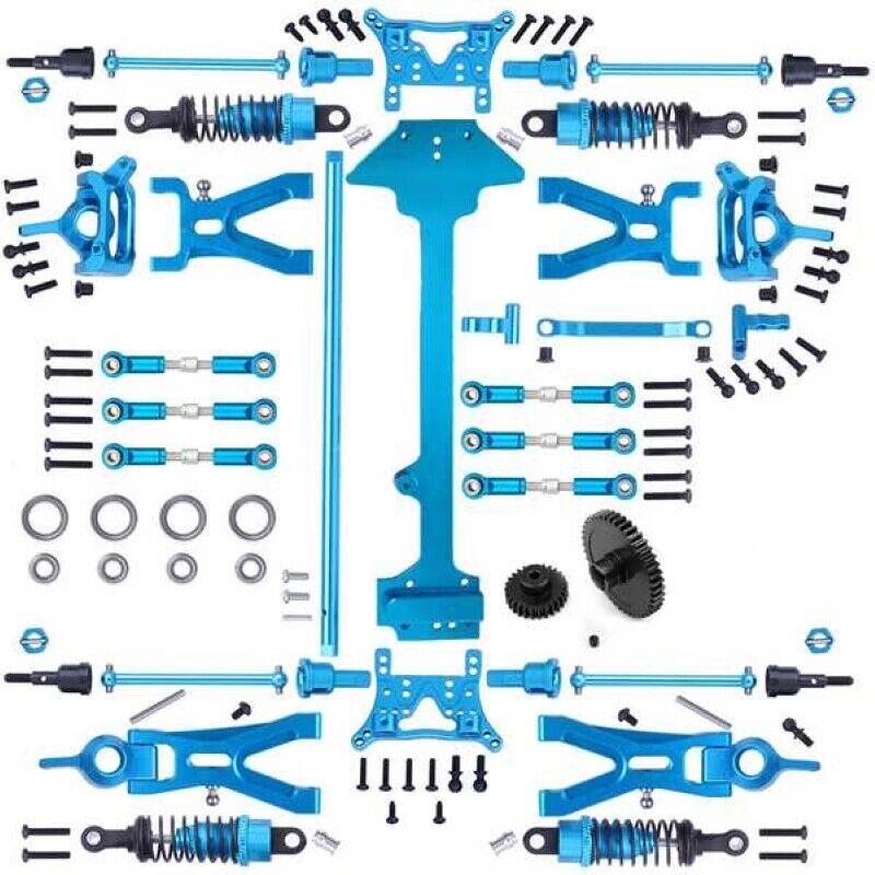 Car Parts - Upgrade Metal 1/18 RC Car Parts Kit for WLtoys A959-B A969-B A979-B K929-B AU
