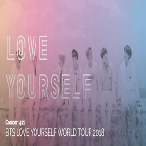BTS Sept 20 Tickets - Selling 2 General Admission Tickets
