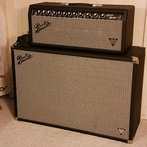 Fender Bandmaster Vintage Modified Tube Head and 212 cab.