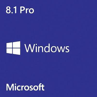 Windows 8.1 Pro 32/64 bit Activation Key (multi language)