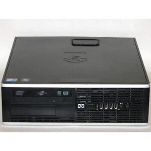 HP 8000 Elite SFF Desktop PC Core2Duo 3GHz 4GB RAM 80GB Winodws7