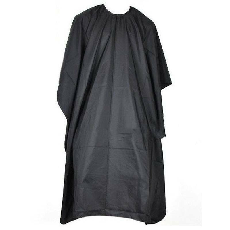 Black Barber Cape Gown Cutting Hairdressing