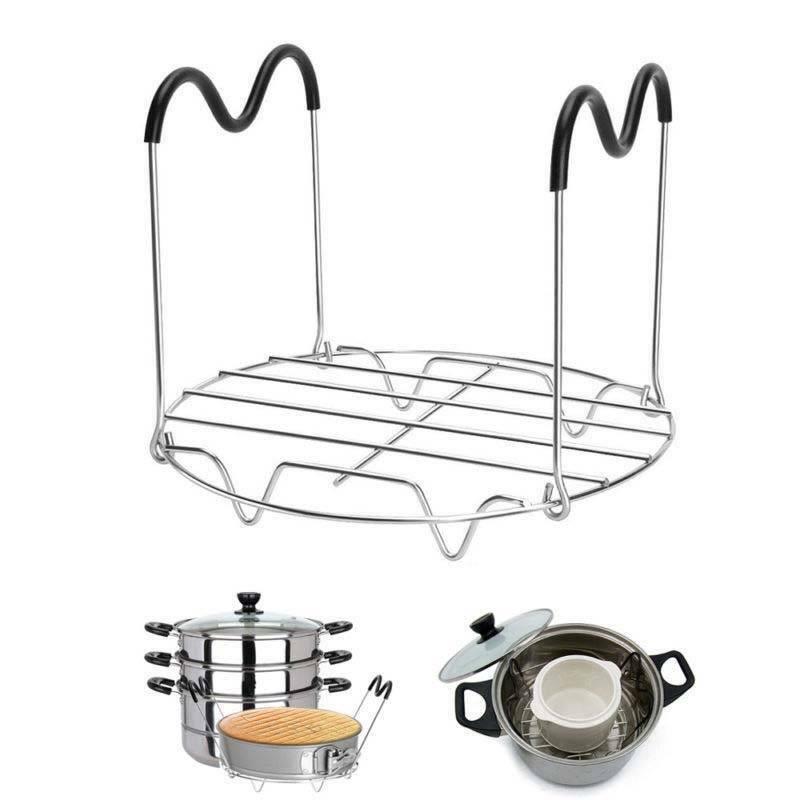 Steamer Rack Trivet with Handles for Instant Pot Pressure Co