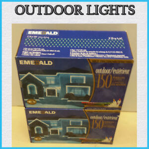 4 SETS OF NEW OUTDOOR LIGHTING WITH 150 LIGHTS PER SET