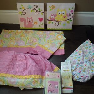 Owl Crib Bedding & Accessories