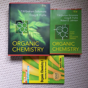 Organic chemistry 9th edition T.W graham solomons & study guides