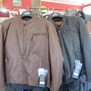 Fieldsheer Perforated Leather Motorcycle Jacket - RE-GEAR OSHAWA